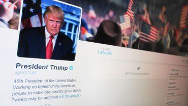 Donald Trump hérite du compte Twitter @POTUS