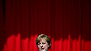 La chancelière allemande Angela Merkel, le 5 juillet 2017 à Berlin