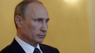 Le président russe Vladimir Poutine accuse Kiev de porter la responsabilité du drame