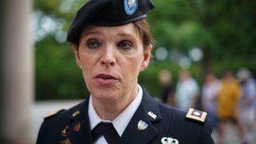 Lieutenant colonel Ann Murdoch.