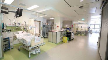Dans un hôpital
