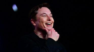 Elon Musk à Hawthorne, en Californie, le 14 mars 2019