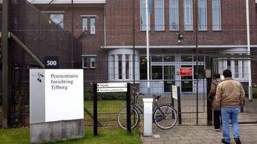 Entrée de la prison de Tilburg
