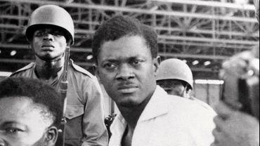 Patrice Lumumba lors de son arrestation avant son exécution.