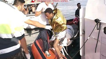 Le bateau transportait entre 400 et 500 migrants
