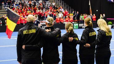 La Belgique dans un groupe avec l'Australie et la Biélorussie lors de la phase finale de la Fed Cup