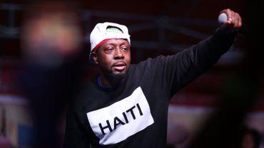 """Le chanteur Wyclef Jean lors de son concert """"Sounds of Little Haiti"""" en faveur de l'extension du statut de protection temporaire accordé aux Haïtiens installés aux Etats-Unis."""