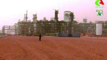Site de la compagnie de gaz à Amenas