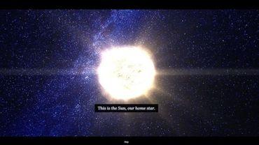 Le Soleil n'est qu'une des 100.000 étoiles présentées dans ce nouveau projet signé Google.