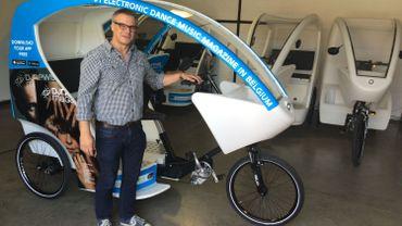 Cyclo-taxis gratuits : « nous ne sommes pas concurrents des taxis »