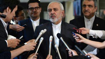 Le ministre des Affaires Etrangères iranien Mohammad Javad Zarif le 16 mai 2019 à Tokyo au Japon