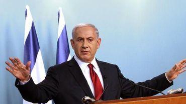 Le Premier ministre israélien Benjamin Netanyahu lors d'une conférence de presse à Jérusalem le 18 novembre 2014