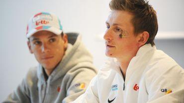 Philippe Gilbert et Andre Greipel
