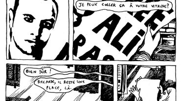 Une BD pour évoquer le parcours du détenu belge au Maroc