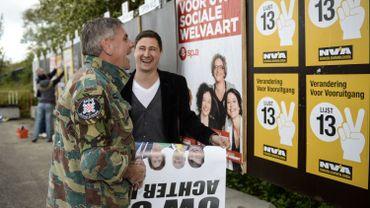 NVA-Vlaams Belang: une porosité électorale évidente