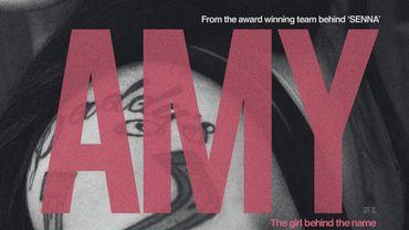 """L'affiche du documentaire """"Amy"""" réalisé par Asif Kapadia. Le cinéaste a remporté le prix du Meilleur documentaire britannique pour """"Senna"""" en 2010"""