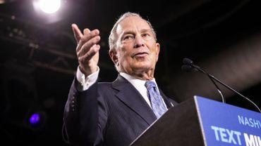 Michael Bloomberg a dépensé 539 millions de dollars en spots télévisés et radiophoniques, mais aussi en publicités numériques depuis le lancement de sa campagne le 25 novembre.