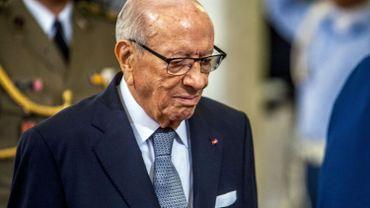 Beji Caid Essebsi, président tunisien