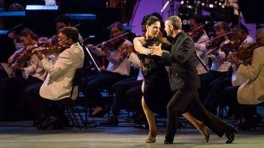 Tango sous les étoiles à Hollywood
