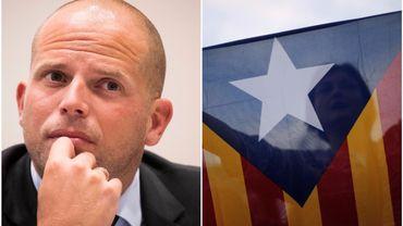 Asile pour Puigdemont: les déclarations de Theo Francken font bondir Madrid