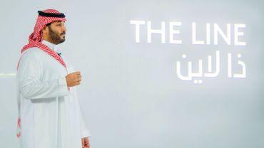 """L'Arabie saoudite lance """"The Line"""", une ville sans voiture"""