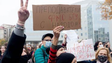 Bélarus: la grève générale a bien débuté ce lundi