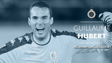 Guillaume Hubert signe pour 4 saisons au FC Bruges