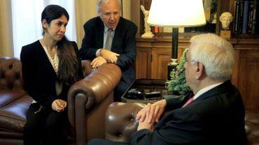 Une jeune yazidie réduite en esclavage par l'EI nommée ambassadrice de l'ONU