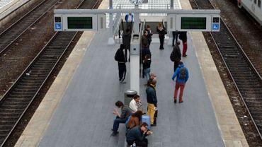 En gare de Liège