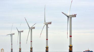 Parcs éoliens offshore: la Belgique en veut cinq nouveaux en mer du Nord
