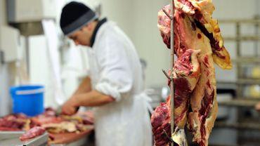 Illustration: l'approvisionnement des boucheries Renmans sera probablement empêché ce week-end