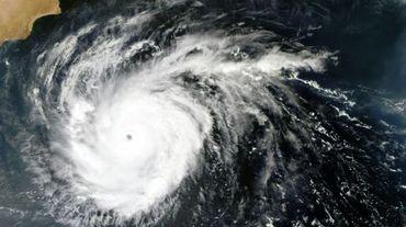 Une photo satellite de la NASA du cyclone Chapala le 30 octobre 2015