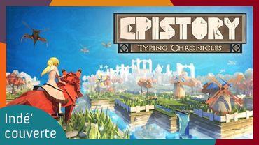Epistory, un jeu indépendant belge au gameplay dactylographique qui vaut le détour