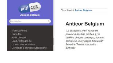 Anticor Belgique, une association qui lutte contre la corruption, a lancé une plateforme collaborative