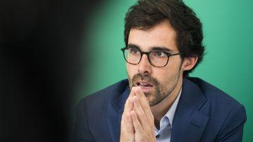 """Le chef de groupe écologiste à la Chambre prône la mise en place d'une coalition """"Vivaldi""""."""