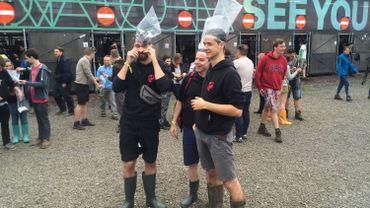 Rock Werchter, premier jour : lutter contre la boue et se soumettre aux contrôles