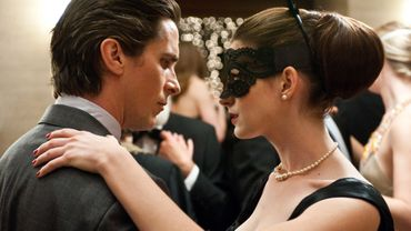 Christian Bale et Anne Hathaway dans 'The Dark Knight Rises'.