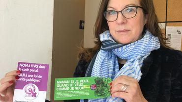 Sortir l'avortement du code pénal: 3 questions à Sylvie Lausberg