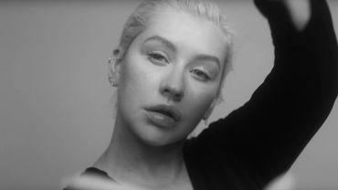 "Christina Aguilera dans son nouveau clip ""Accelerate""."