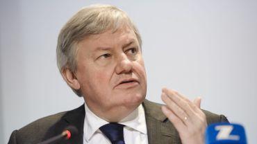 Jean-Claude Marcourt, ministre wallon de l'Economie