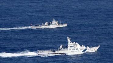 Des navires chinois patrouillent aux alentours d'îles disputées