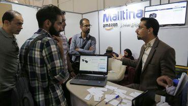A Téhéran, le salon Elecomp tech connaît une forte croissance.