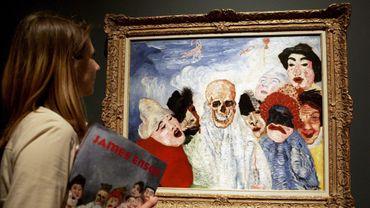 James Ensor - exhibition in Frankfurt