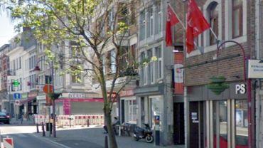 Le siège du PS à Verviers