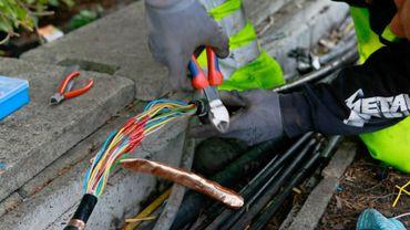 Infrabel innove pour lutter contre les vols de câbles