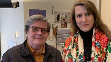 Marie Vermeiren et Sarah Carlot Jaber