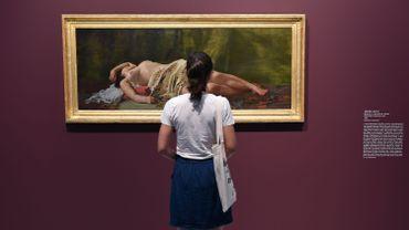 """""""Etude de nu"""" peint en 1864 par Frédéric Bazille"""
