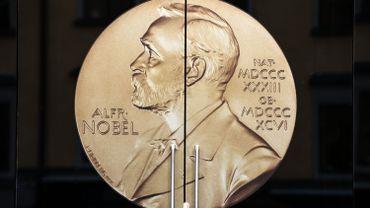Porte d'entrée du musée Alfred Nobel à Stockholm en Suède