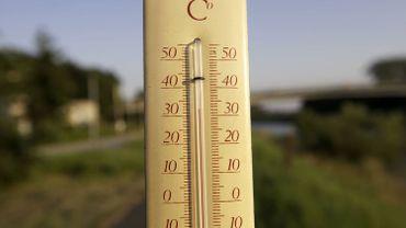 Illustration - Le record de température pour un 27 juillet pulvérisé à Uccle.