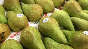 Les pommes et les poires belges doivent prendre le chemin de l'exportation.